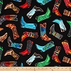 Colorful Boots- Fabric for special needs bibs