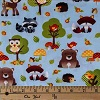 Forest Friends- Fabric for special needs bibs