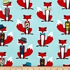 Foxes- Fabric for special needs bibs
