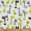 Giraffes- Fabric for special needs bibs
