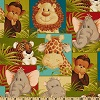 Jungle Patch Babies- Fabric for special needs bibs