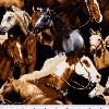 Real Horses- Fabric for special needs bibs