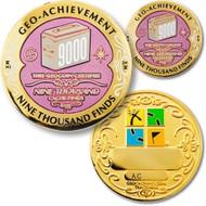 9,000 Finds Geo-Achievement set