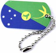 Australia Christmas Island Trackable Flag