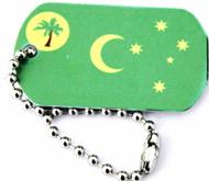Australia Cocos (Keeling) Islands Trackable Flag