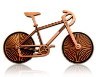 Bicycle - Antique Copper