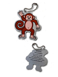 Bonobo the Monkey Travel Tag