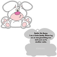 Buster the Bunny Travel Tag