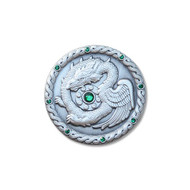 Caching with Dragons Geocoin- AS