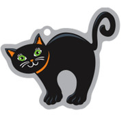Catsidy The Black Cat Travel Tag