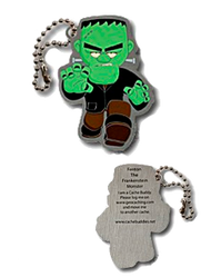 Fenton the Frankenstein Monster Travel Tag