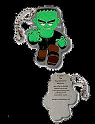 Fenton the Frankenstein Monster Travel Tag
