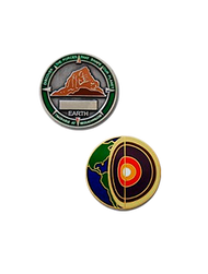 Four Elements Earth Micro Geocoin