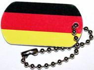 Germany Flag Travel Tag
