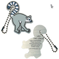 Leo the Lemur Travel Tag