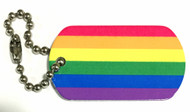 LGBTIQ Pride Flag Travel Tag