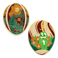 Limited Edition - Signal the Frog Egg Geocoin
