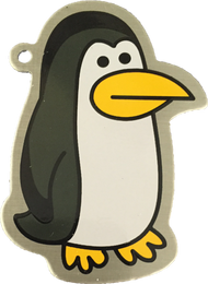 Percy the Penguin Travel Tag