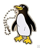 Peter the Penguin Travel Tag