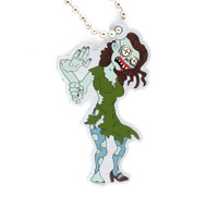 Tiffany the Zombie Travel Tag