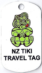 Tiki Travel Trackable