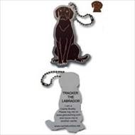 Tracker the Labrador Travel Tag