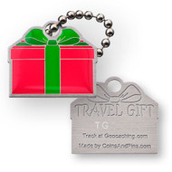 Travel Gift Tag - Red Green