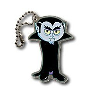 Vinny the Vampire Travel Tag