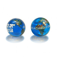 Geocaching Logo Marble-Earth