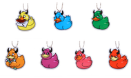 Official Deadly Duck Trackable Tag- set of 7