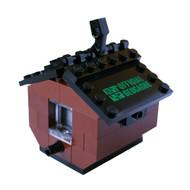 Build Your Own Birdhouse Brick Set Geocache