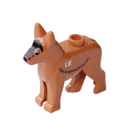 Custom Trackable GeoDog Brick- German Shepard