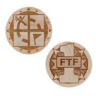 Wooden Nickel SWAG Coin - First To Find