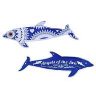 Limited Edition Dolphin Geocoin- Blue