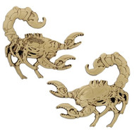 Steampunk Predators - Scorpion Geocoin