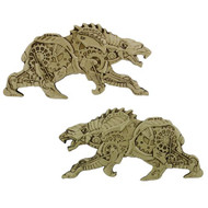 Steampunk Predators - Polar Bear Geocoin
