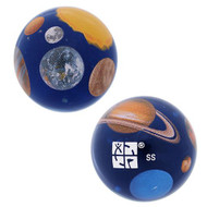 Trackable Solar System Large Marble
