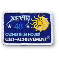 48 Finds in 24 Hours Geo-Achievement™ Patch