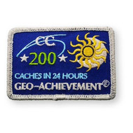 200 Finds in 24 Hours Geo-Achievement™ Patch