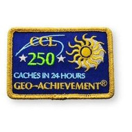 250 Finds in 24 Hours Geo-Achievement™ Patch
