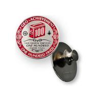 100 Finds Geo-Achievement™ Pin