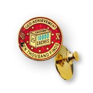 10000 Finds Geo-Achievement™ Pin