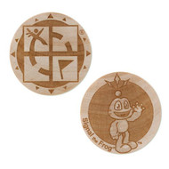 Wooden Nickel SWAG Coin - Signal The Frog