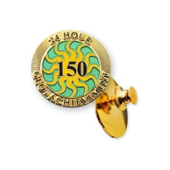 150 Finds in 24 Hours Geo-Achievement™ Pin