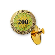 200 Finds in 24 Hours Geo-Achievement™ Pin