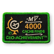 4000 Finds Geo-Achievement™ Patch