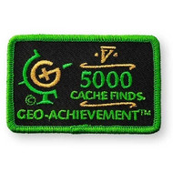 5000 Finds Geo-Achievement™ Patch
