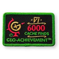 6000 Finds Geo-Achievement™ Patch