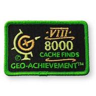 8000 Finds Geo-Achievement™ Patch