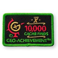 10000 Finds Geo-Achievement™ Patch